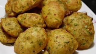 Food Street-Style Spicy Aloo Pakora Recipe | Crispy Potato sliced Pakodi | Ramadan Recipes-