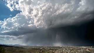Rain Bomb: Rare 'Wet Microburst' Caught on Camera in Stunning Timelapse thumbnail