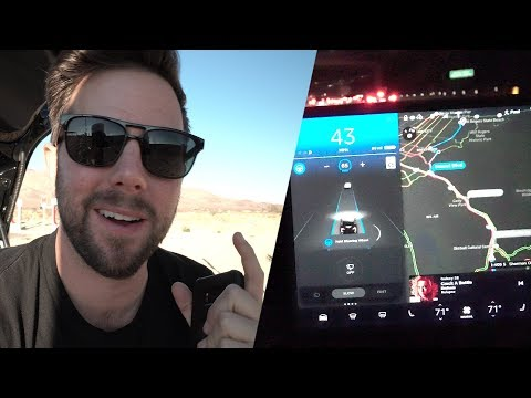 Tesla Model 3 Autopilot First Look - 500 Mile Road Trip