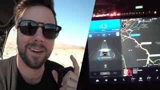 Tesla Model 3 Autopilot First Look - 500 Mile Road Trip