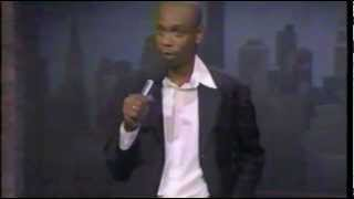 Dave Chappelle on Letterman 1997 Stand up