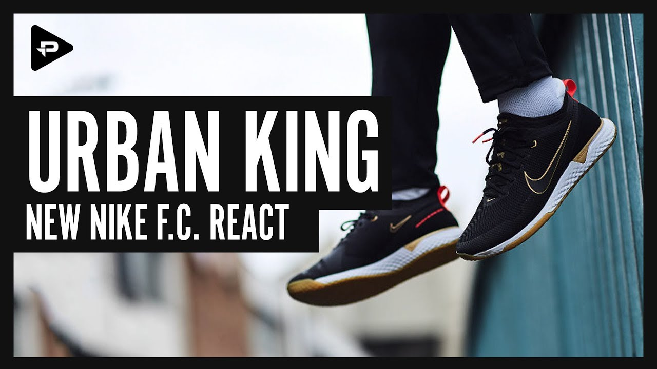 Unboxing New Nike FC React Shoes - YouTube