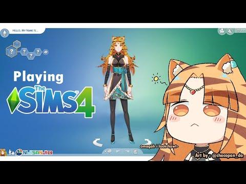 【The Sims 4 #1】Simulasi Kehidupan Nara【NIJISANJI ID】