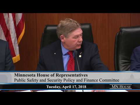 Omnibus Public Safety and Security Finance bill is presented to committee