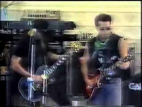 Titãs no programa Bem Brasil 1996