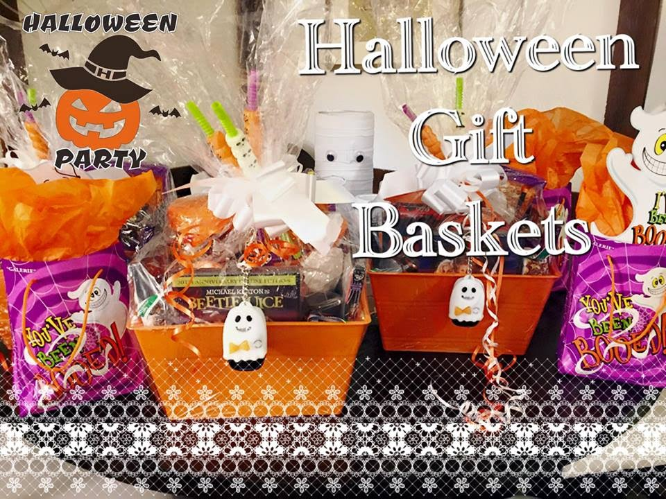 D.I.Y Halloween Gift Basket 2015 - YouTube