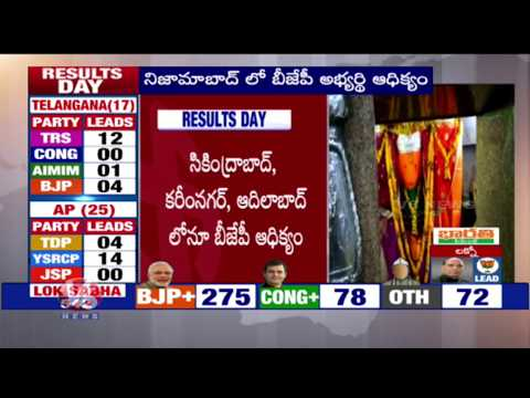 Election Results 2019 | AP And Telangana Vote Counting Updates | V6 News