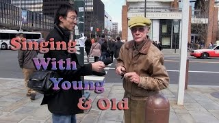 Public Karaoke With Young And Old Philadelphia Old City Fun