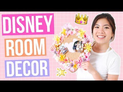 DIY Disney Room Decor that Disney Fans MUST Try! Tumblr + Pinterest Inspired! || Ariel Alena