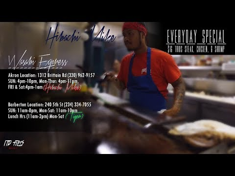 WASABI EXPRESS Ft. Hibachi Mike & Tiger (Shot by. ITD FILMS)