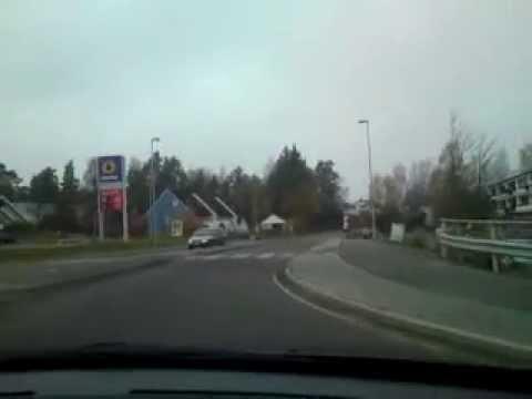 DRIVING IN: Norway-Akershus-Skedsmokorset