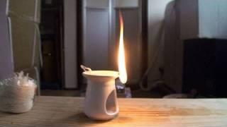 懐中電灯も蝋燭がなくても明かりを得る方法 | Handmade lamp thumbnail