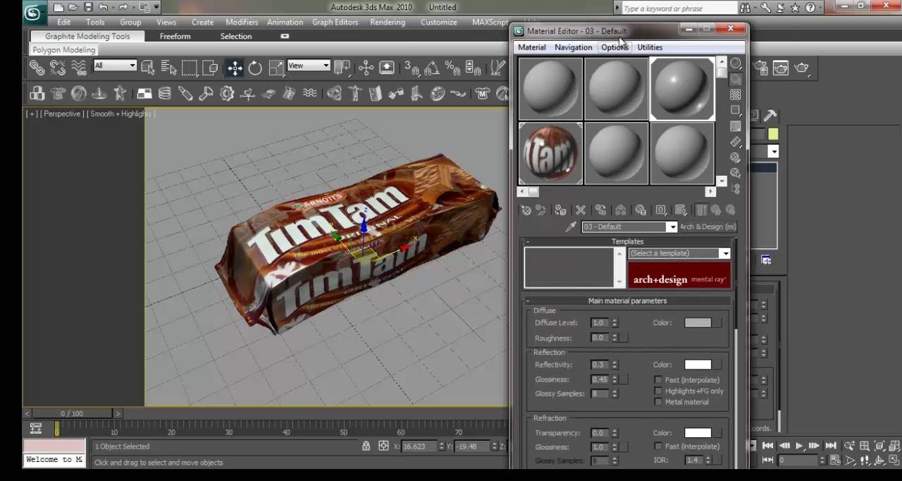 3DS Max Modeling Tutorial: How to Model & Render Prodcut ...