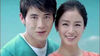 Kim Tae Hee,Kosoo HANA BANK CF of 2010  20secs [HQ]