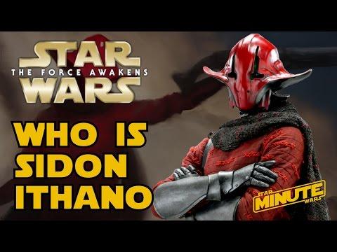Sidon Ithano: The Crimson Corsair Explained (Canon) - Star Wars Minute