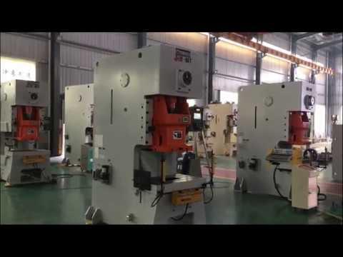 JH21 80 ton Powr Press Machine , 80t Pneumatic punching machine price