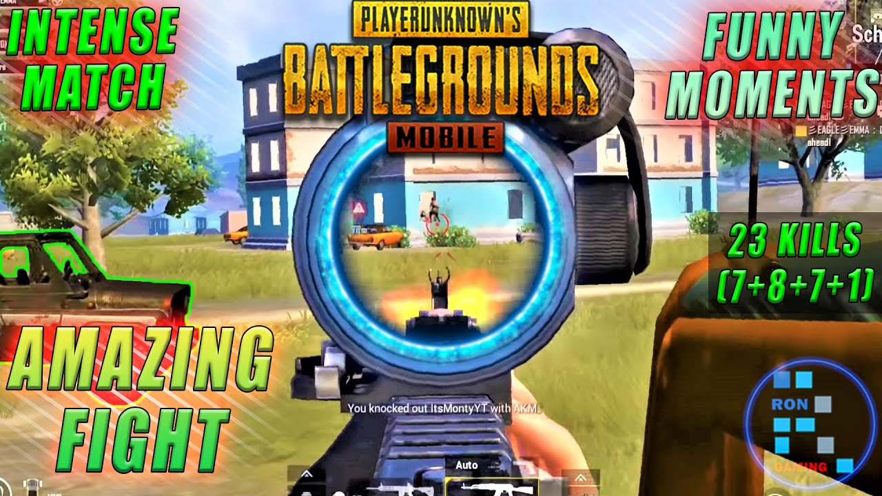 Pubg Mobile | Very Intense And Funny Match With 23 Kills Chicken Dinner