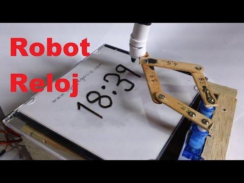 Robot Reloj, como se Programa y Calibra (Tutorial)