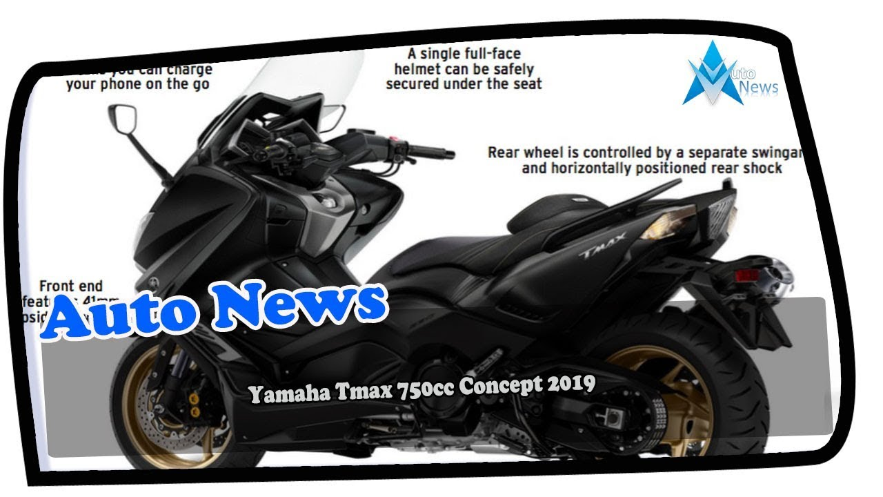 AMAZING !!! Yamaha Tmax 750cc Concept 2019 Price & Spec