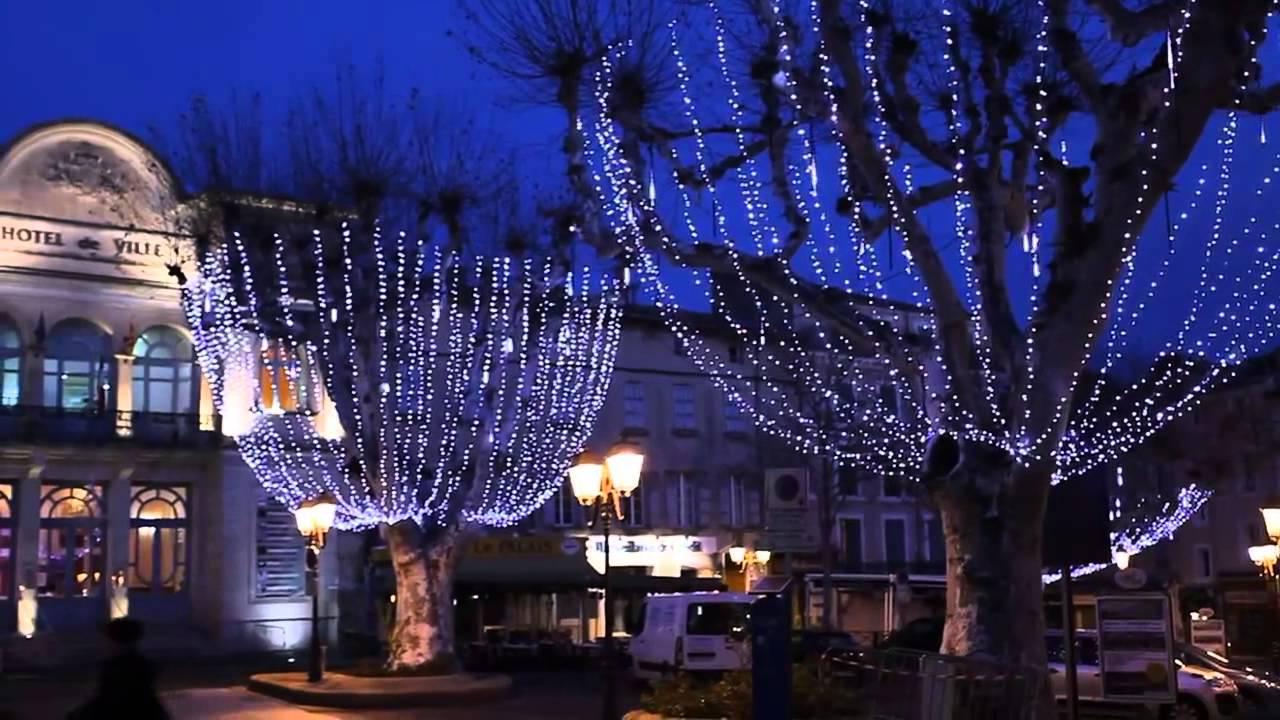 LED Snowfall Lights - YouTube