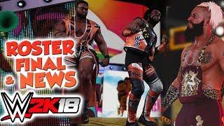 WWE 2K18 - La liste du roster final, l'entrée de Breezango et plein d'infos !!!
