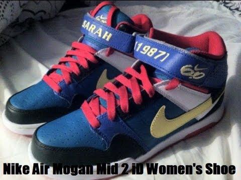 igualdad Máxima mendigo  Shoe Speak #4 - Nike Air Mogan Mid 2 iD Women's Shoe - YouTube