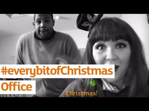 #everybitofChristmas Office | Sainsbury's Ad | Christmas 2017