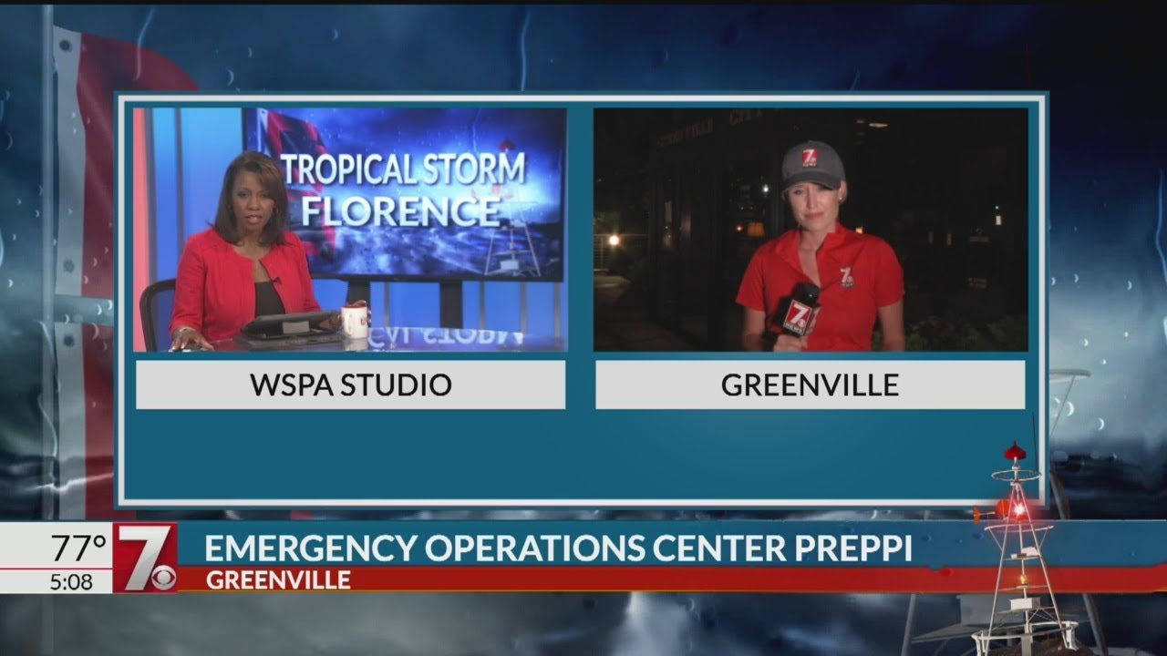 live at 5 greenville co EOC
