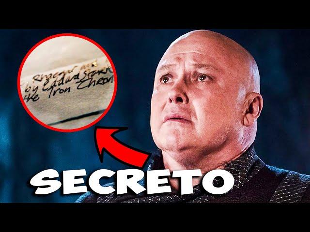 El Plan Secreto De Varys REVELADO! Aun se Puede Cumplir! Juego de Tronos