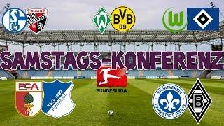 Bundesliga 17.Spieltag - Samstagskonferenz - FIFA 17 Prognose