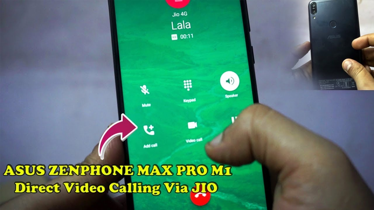 Asus Zenfone Max Pro M1 Native Video Calling || How to make Direct Jio  video calling on Ausu Max pro