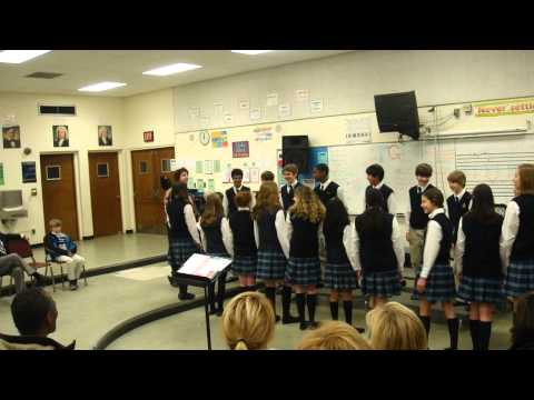 Detroit Country Day Middle School Choir - February 12th, 2011