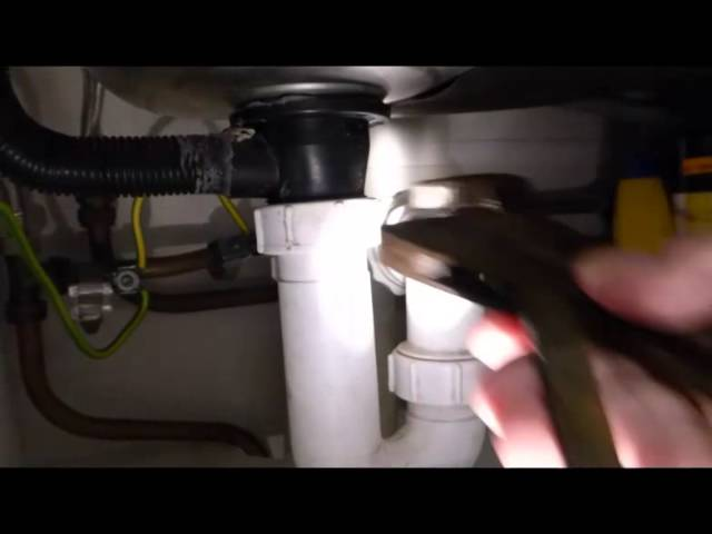 How To Stop Bad Smells And Gurgling From Your Sink Waste Youtube