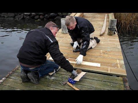 Renovering af Smakkebroen, Nysted Havn