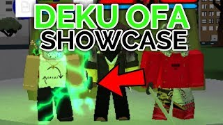 NEW DEKU OFA! | Boku no Hero: Remastered | ROBLOX
