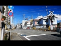 身延線【No.67】黒田踏切・通過・走行映像 静岡県富士宮市(JR東海・旅客 鉄道 路線・列車)