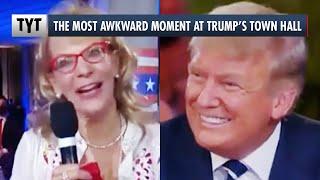 Trump's Awkward Smile Moment at NBC Town Hall
