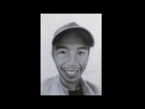 Ar. Llyan Austria | Portrait Drawing Timelapse