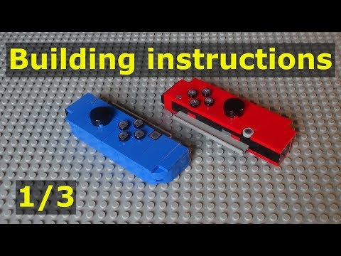 Building Instuctions For Lego Nintendo Switch Moc 2 0 1 3 Youtube