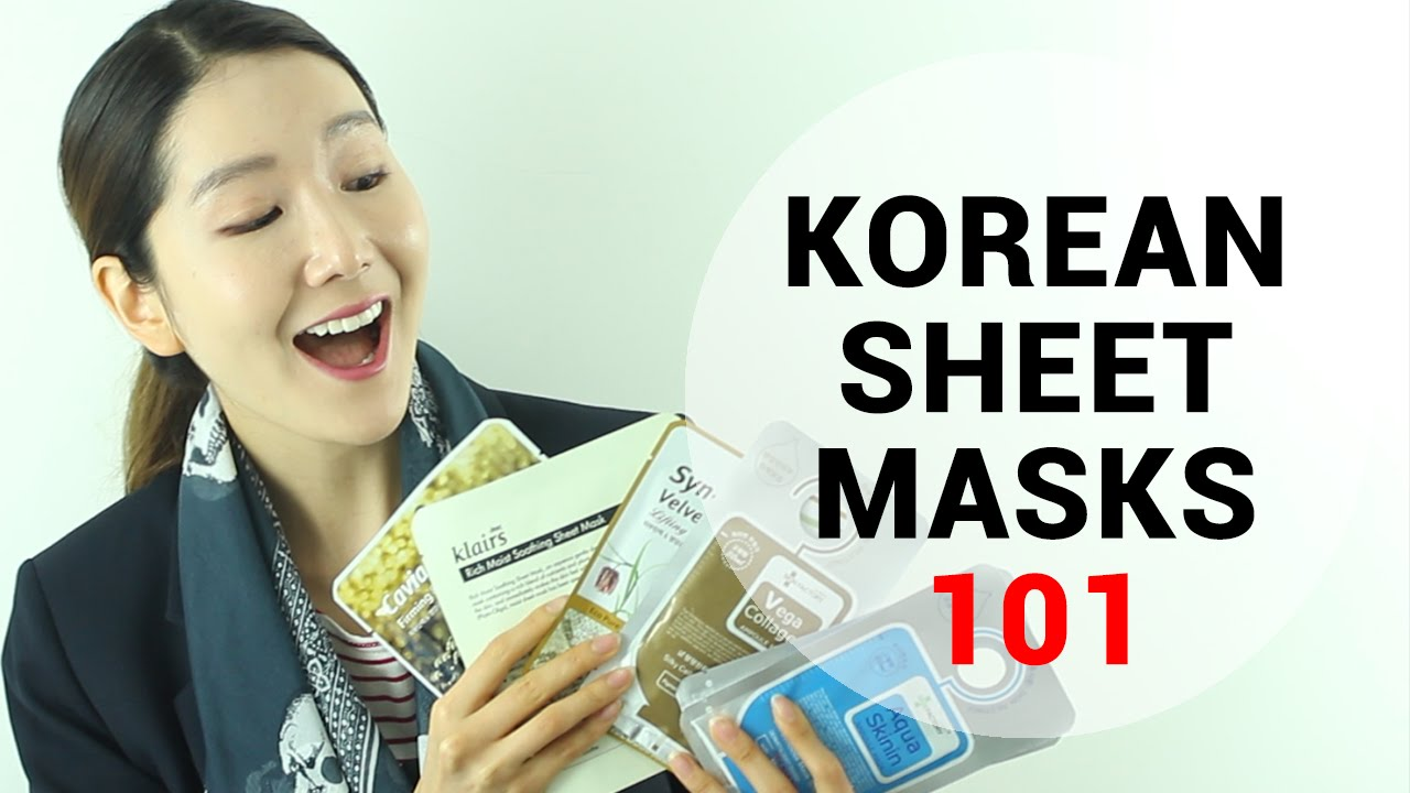 Korean Sheet Mask Review How To Choose A Wishtrend Sensi Masker Face Youtube