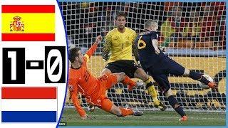 Final Piala Dunia 2010/ Spanyol vs Netherland 1- 0 Goals and Highlights Final Piala Dunia 2010 HD