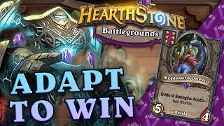 Adapt to Win! BATTLEGROUNDS   Hearthstone Ita