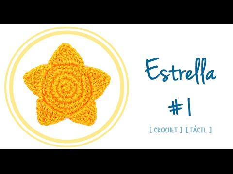 ESTRELLA A CROCHET (#1) | Patrones Valhalla - YouTube