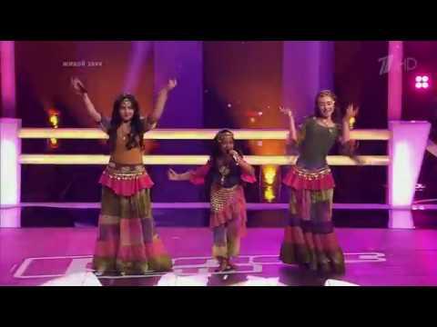 Inna-Yalla. Lavalina Sandeep Nair, Veronica Inkiko, Eden Golan. The Voice Kids Russia Battles