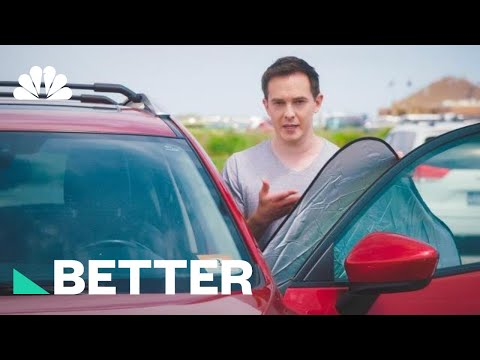 Keep Your Parked Car Cool With These Clever Tricks!   NBC News