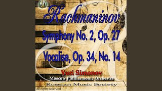 Symphony No. 2, Op. 27- Sergei Rachmaninoff: I. Largo- Allegro moderato