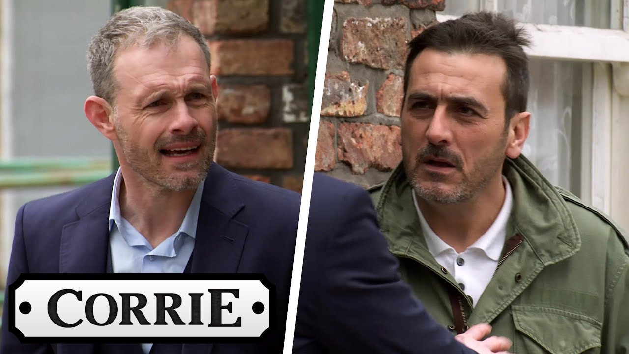Nick Fights With Peter Over Simon Moving In With Him | Coronation Street
