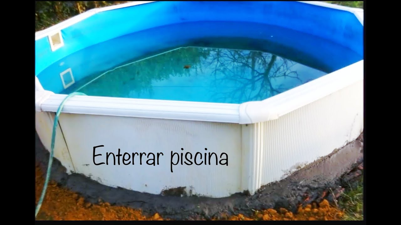 como enterrar piscina desmontable f cil y econ mico youtube On enterrar piscina desmontable