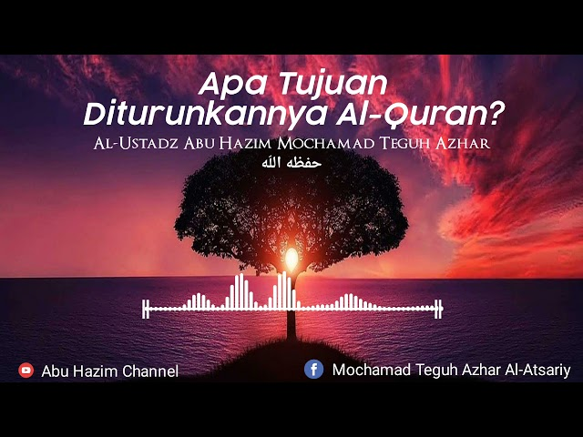 Khutbah Menggetarkan Hati Tentang Al-Quran!!!