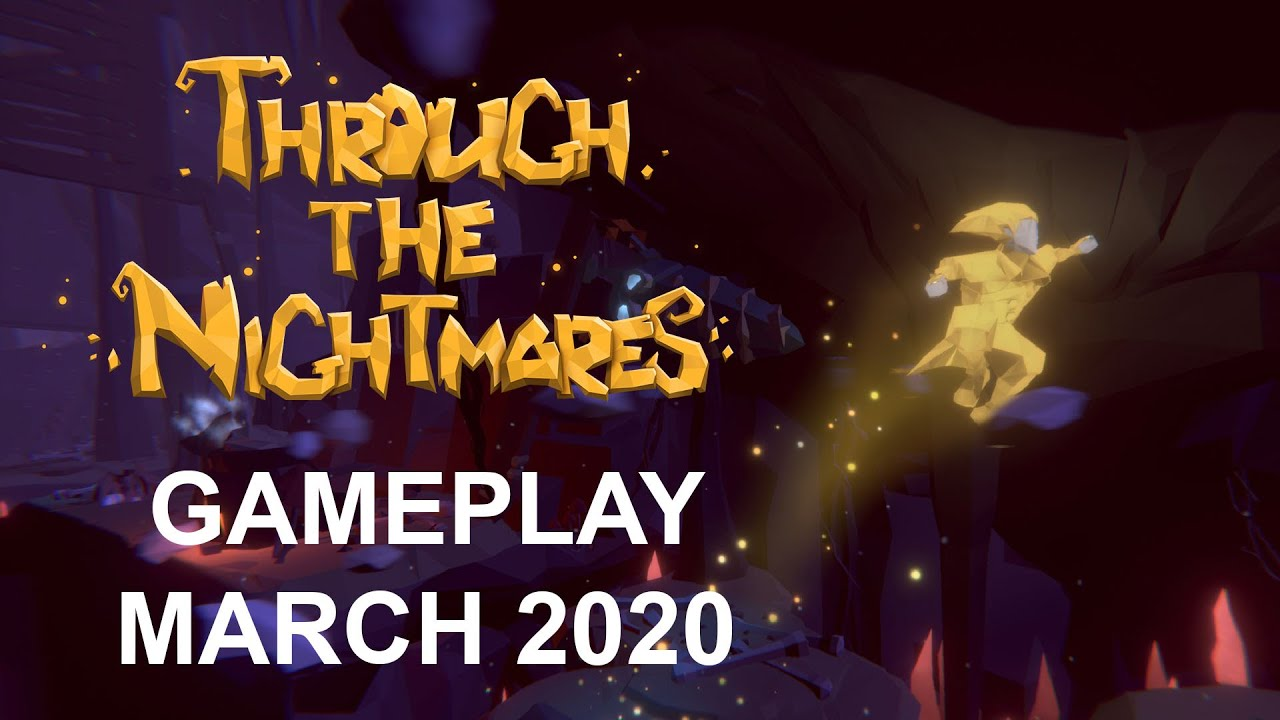 Through The Nightmares - Hardcore Atmospheric Platform Game (Gameplay 2020) (Coming soon version)